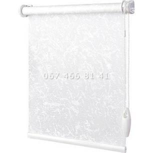 Тканевые ролеты Besta Mini Muenchen BlackOut White 6200, фото 2