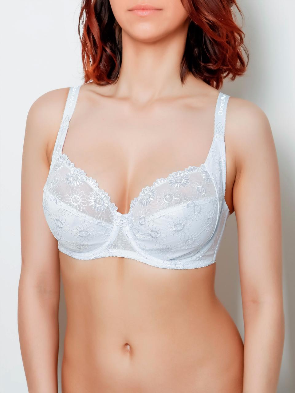 Бюстгальтер Diorella 38002D, колір Білий,  розмір 80D