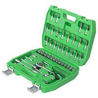 Набор инструментов ET-6046 INTERTOOL головок, насадок. Ключи,головки,трещотка