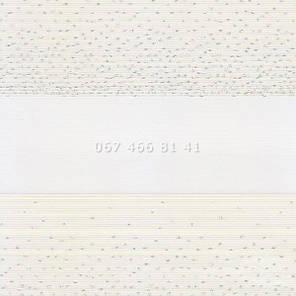 Тканевые ролеты Besta Uni с плоскими направляющими День-Ночь BH Vanilla 115-2, фото 2