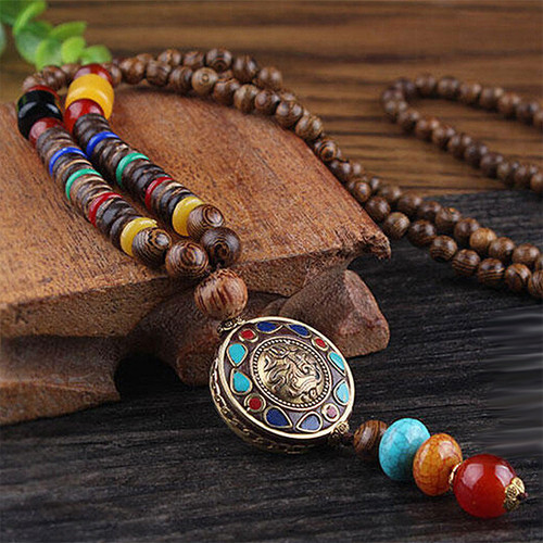 Тибетское ожерелье Divine Elephant