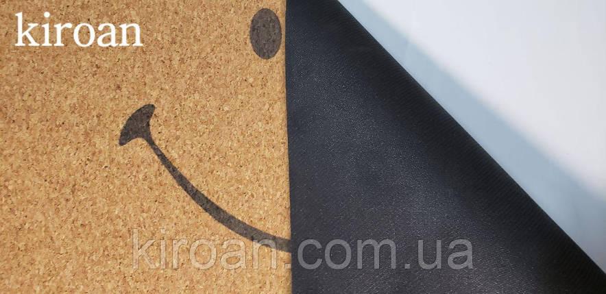 Коврик 45х75 см Пробка на вспененной резине (Все буде добре), фото 2