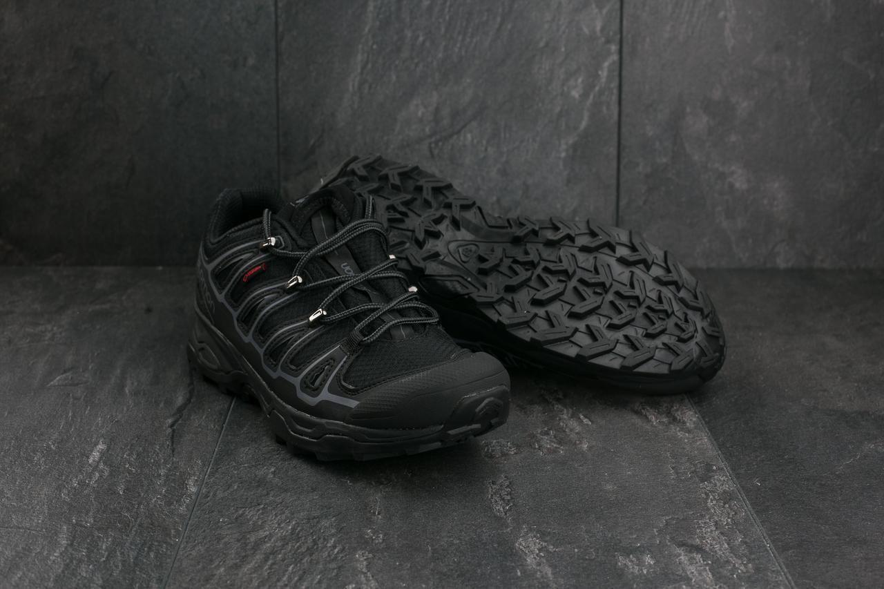 Мужские кроссовки текстильные весна/осень черные Ditof А 360 -2