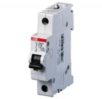 Миниатюрный автоматический выключатель ABB S201M. 1P 1А (С) 10kA