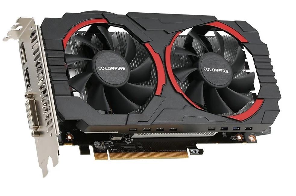 Colorful   Radeon RX550  4 Gb   DDR5  Новая . Гарантия 6 мес.