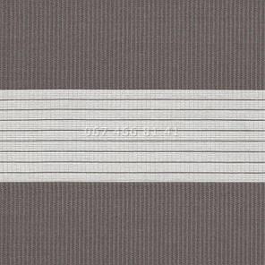 Тканевые ролеты Besta Uni с П-образными направляющими День-Ночь BH Graphite 1220, фото 2