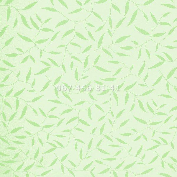 Тканевые ролеты Besta Uni с П-образными направляющими Batik Green