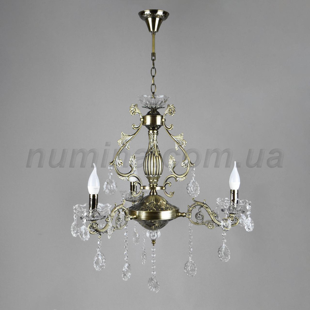 Люстра подвесная на три лампы  3-N3030/3 AB