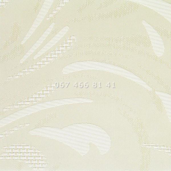 Тканевые ролеты Besta Uni с П-образными направляющими Champagne Cream