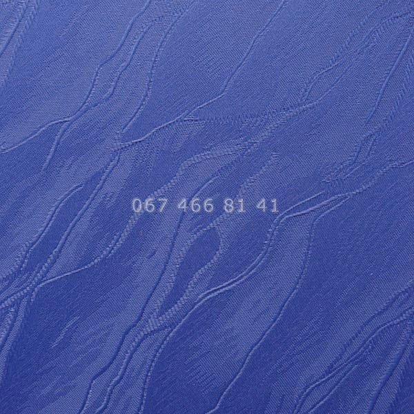 Тканевые ролеты Besta Uni с П-образными направляющими Woda T Dark Blue 2090