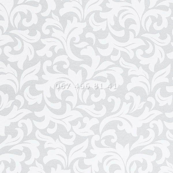 Тканевые ролеты Besta Uni с плоскими направляющими Frost White 01