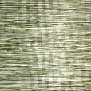 Тканевые ролеты Besta Uni с П-образными направляющими Natural Green 5104, фото 2