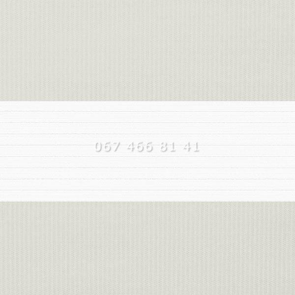 Тканевые ролеты Besta Uni с П-образными направляющими День-Ночь BH Grey 21