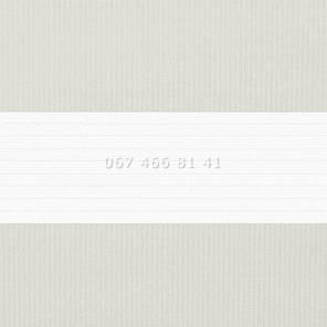 Тканевые ролеты Besta Uni с П-образными направляющими День-Ночь BH Grey 21, фото 2