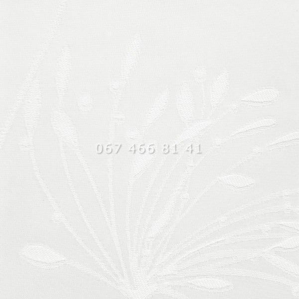 Тканевые ролеты Besta Uni с плоскими направляющими Fennel White 8