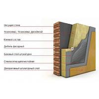 Теплоизоляция на основе каменной ваты ТехноФас эффект 1200*600*80 мм под штукатурку
