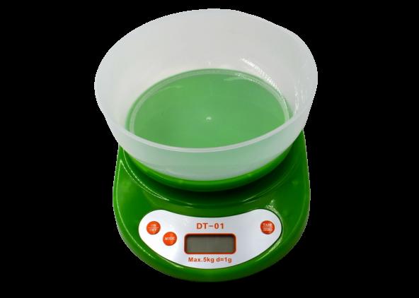 Весы кухонные с чашей D&T DT-01, фото 2
