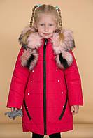 """Зимняя куртка пальто для девочек """"Бленда"""" от 2 до 6 лет"""