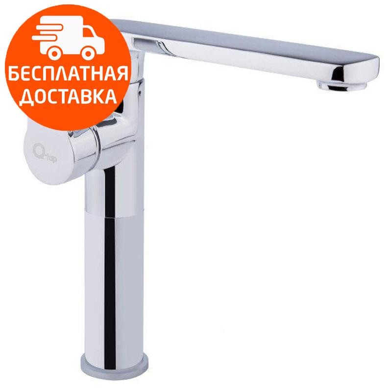 Смеситель для кухни высокий Q-tap Eco CRM 007 хром