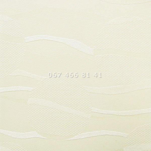 Тканевые ролеты Besta Uni с плоскими направляющими Sea Cream 2079