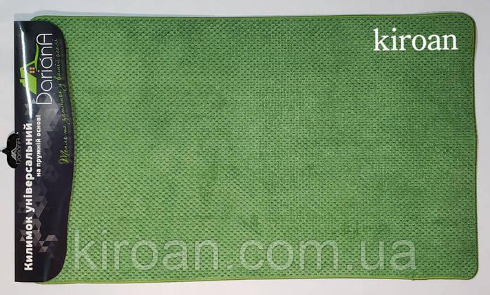 """Универсальный коврик, полиестер на вспененной резине """"Ананас"""" 45х75см (цвет-зелёный), фото 2"""