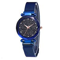 Женские наручные часы Starry Sky Watch на магнитной застёжке Blue
