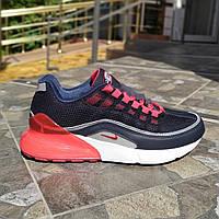 Мужские кроссовки с силиконовой пяткой. Реплика Nike.42 43 размеры