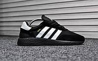 Мужские кроссовки Adidas Iniki Runner Black/White
