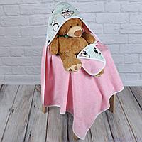 """Полотенце для купания с капюшоном """"Панда"""""""