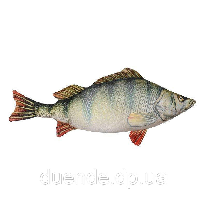 Антистрессовая игрушка Рыба Окунь, полистерольные шарики