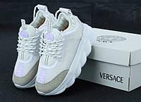 Кроссовки Versace Chain Reaction Sneakers - Версаче