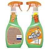 Жидкость для мытья стёкол Мистер Мускул с распылителем 500мл, фото 2