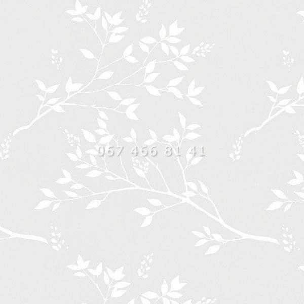 Тканевые ролеты Besta Uni с П-образными направляющими Park White