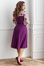 Платье, №137, фиолетовое, 48-58р., фото 2