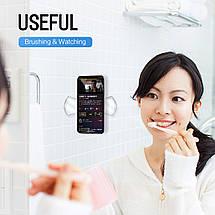 Набор гелевых держателей для мобильного телефона Rock Universal Sticky Gel Pad (Черный/Прозрачный, 3 шт), фото 2