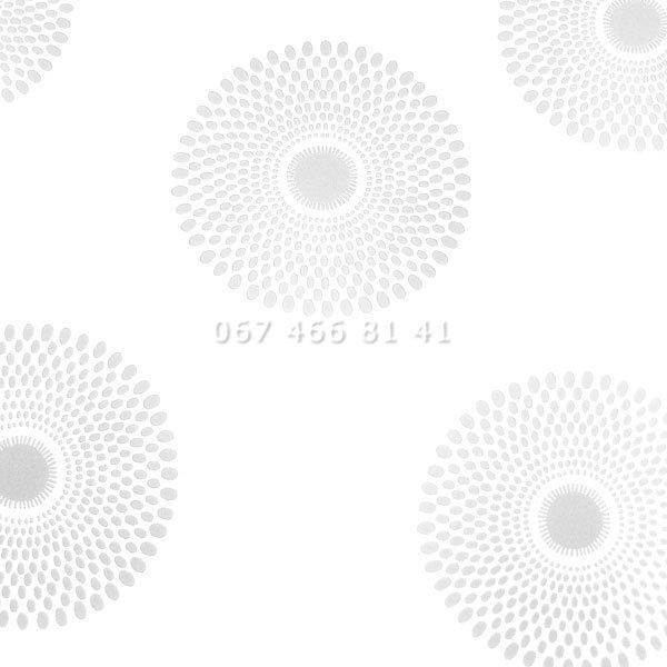 Тканевые ролеты Besta Uni с плоскими направляющими Sun Silver