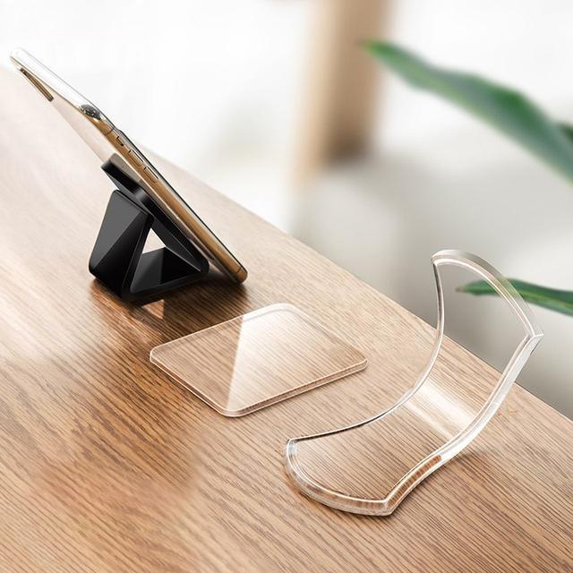 Набор гелевых держателей для мобильного телефона Rock Universal Sticky Gel Pad Черный/Прозрачныйф 3 шт