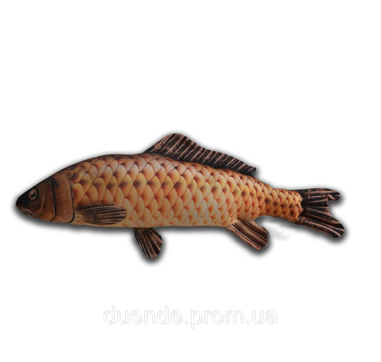 Антистресова іграшка Риба Сазан, полистерольні кульки