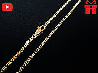 """🔥✅Цепочка """"Улитка"""" тонкая. Позолота 18 К Xuping, медицинское золото, хьюпинг, XP, ювелирная бижутерия"""