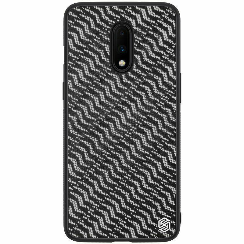 Nillkin OnePlus 7 Twinkle case Silver Чехол Бампер