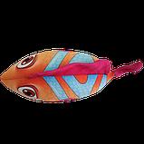 Антистресова іграшка Рибка Клоун 20*23 см, полистерольні кульки, фото 5