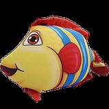 Антистресова іграшка Рибка Клоун 20*23 см, полистерольні кульки, фото 2