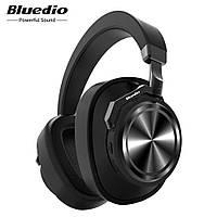 Наушники беспроводные Bluedio T6 с шумоподавлением (черные)