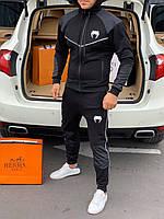 🔰 Мужской черный спортивный костюм Venum (реплика)