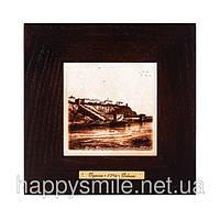 """Картина Одесса 1794 """"Вид на город с моря"""" (18x18) см"""