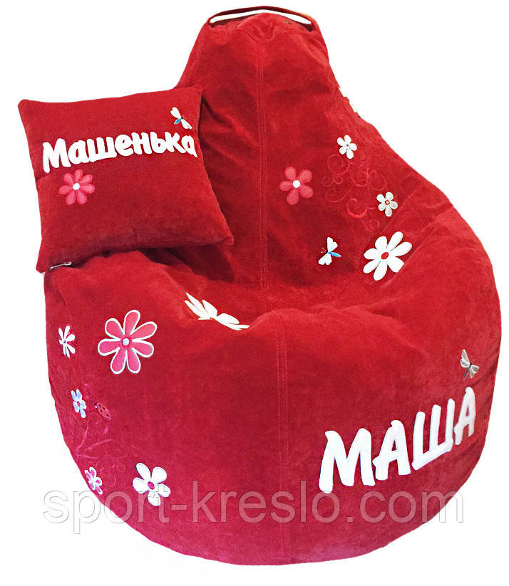 Кресло мешок пуф Ромашка