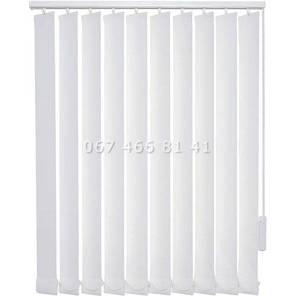 Жалюзи вертикальные 127 мм Screen T White Linen 10220, фото 2
