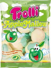 Маршмеллоу Яблучна Мальва Trolli Apple Mallow 150г Німеччина