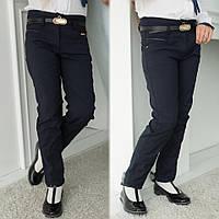 Детские брюки школьные брюки черные и синие школьная форма для девочки турецкий джинс размер:21,22,23,24,25,26