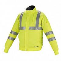 Аккумуляторная куртка с вентиляцией Makita LXT/CXT, 10,8-18В (L) DFJ214ZL
